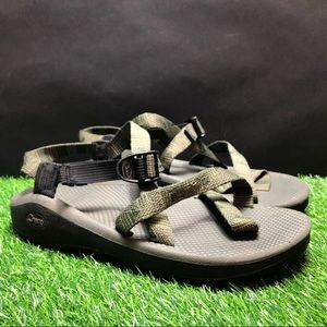 Chaco Vibram Camouflage Strap Ankle Sandals